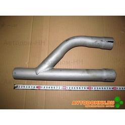 Труба 3 глушителя соединительная (штаны) ( дв.ЗМЗ) ПАЗ-3205 3205-1203020-01