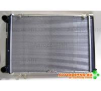 Радиатор охлаждения 2-х рядный дв.алюмин. ( в/з .1301010-11) ГАЗель Бизнес, ГАЗ-33027, УМЗ-4216 33027.1301010-21