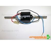 Привод вентилятора отопителя ГАЗ, ПАЗ (12В 90Вт) (под две крыльч.) 68.3780 КЗАЭ г.Калуга