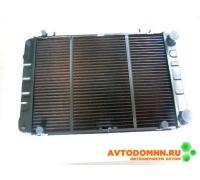 Радиатор охлаждения 3-х рядный дв.медно-латун. G-PART ГАЗель Бизнес, УМЗ-4216 .GB-330242-3 ROWS 2588
