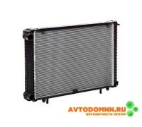 Радиатор охлаждения Г-3302 Бизнес (алюминий) 2-х рядный LUZAR Газель Бизнес LRc 03027b LUZAR