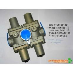 Клапан защитный 4-х контурный К 100-3515510-20 Рославль