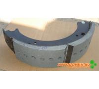 Колодка торм передняя сварная, с роликом ЗИЛ 133-3501090