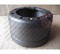 Тормозной барабан МАЗ-4370 Зубрёнок задняя ось 8 шпилек 4370-3502070С Рязань