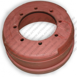 Тормозной барабан ЗиЛ-433360 задний мост, ЗиЛ-433180 передняя ось, автобусы ПАЗ-32053, 3...