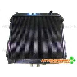 Радиатор охлаждения дв.Cummins (LRc 03106b) Валдай, ГАЗ-3310 ЛР33106-1301010 LUZAR