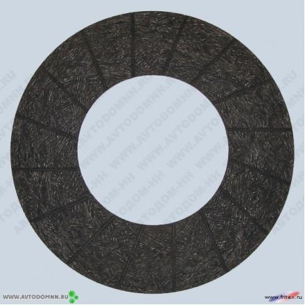 Накладка сцепления КамАЗ-65116, 65117, 6540 б/асб 16-1601138-02 не сверленые ФРИТЕКС