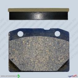Колодки тормозные ВАЗ-2101-2107 б/асб 2101-3501090 передние ФРИТЕКС