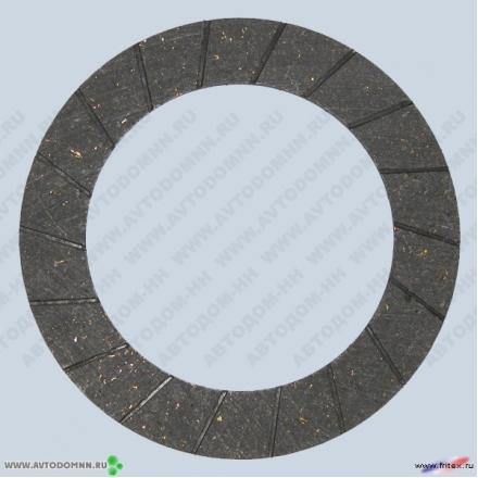Накладка сцепления ЗАЗ-11022 Таврия асб 245-1601138 не сверленые ФРИТЕКС