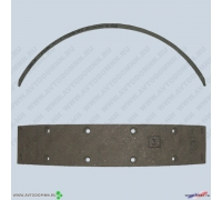 Накладки тормозные УАЗ б/асб 3160-3502105-10 сверленые ФРИТЕКС