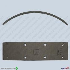 Накладки тормозные УАЗ б/асб 3160-3502106-10 сверленые ФРИТЕКС
