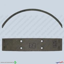 Накладки тормозные УАЗ б/асб ручник 3160-3507020-10 сверленые ФРИТЕКС