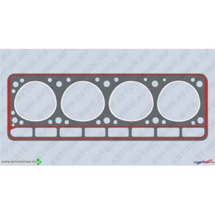 Прокладка головки блока Г-2410, Г-3102 СТАНДАРТ индивидуальная упаковка 4021-1003020 (714-83-04) с герметиком ФРИТЕКС