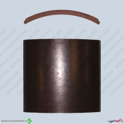Накладки тормозные МАЗ-5224 прицеп 5224-3501105Б не сверленые ФРИТЕКС