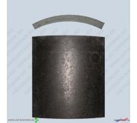 Накладки тормозные полуприцеп с осями LAG FX-03 не сверленые ФРИТЕКС