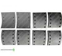 Тормозные накладки 1рем. ось BPW D422 ABL1001