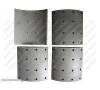 Тормозные накладки 2 рем. SCANIA 5 задние ABL2006