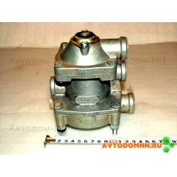 Клапан тормоза прицепа двупроводной 100-3522010 Рославль