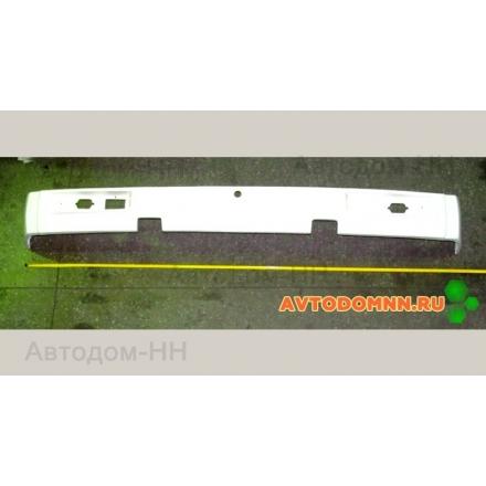 Бампер задний (белый) (пластиковый) ПАЗ 3205-2804014 Павлово