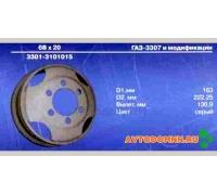 Диск колеса ГАЗ-53, 3307, ПАЗ-3205 3301-3101015