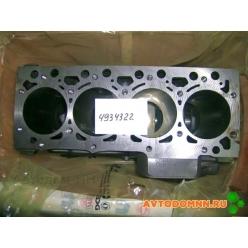 Блок цилиндров двигателя 4ISBe, 4ISDe, К, ПАЗ 4934322 Cummins