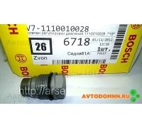 Клапан ограничения давления в рампе 110 010 028 BOSCH
