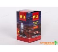 Лампа ПТФ (12V-вольтаж, H11 -тип лампы, PGJ19-1 -тип цоколя) (аналог: Н11 12-55) 12V H11 PGJ19-2 АВТОМАГНАТ