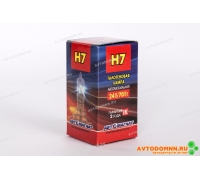 Лампа головного света, ближний/дальний, противотуманных фар. (24V-вольтаж, H7-тип лампы, PX26d-тип цоколя) (аналог: Н7 24-70 PX26d) 24V H7 70W PX26d АВТОМАГНАТ