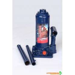 Домкрат 5 т. (мин.195 мм, мах. 380мм) с предохранительным клапаном (пластмассовый бокс) ...