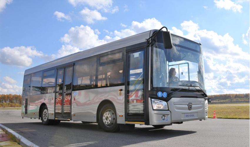 Обновление автобусного парка Алматы (Казахстан)