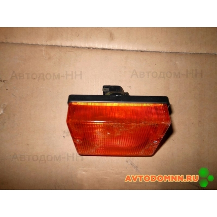 Фонарь указателя поворота (большой желтый) (Завод) УП-115
