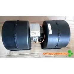 Блок вентиляторный SPAL (24В) (3-скор) ПАЗ 009-B50-22-24v SPAL