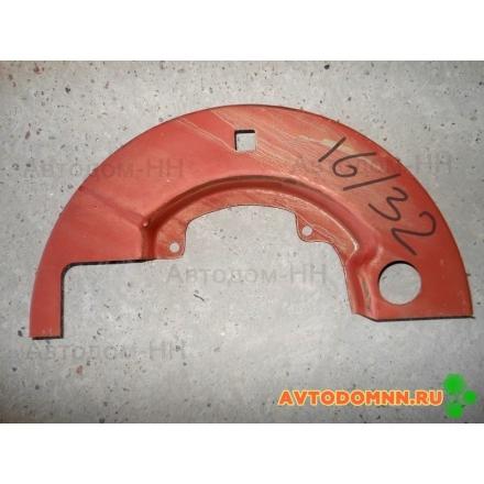 Щиток защитный правый верхний (кол. 160мм) ПАЗ-3204 16-3501032-110