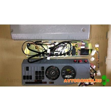Щиток приборов в сборе Е-4 с панелью электрощитка ПАЗ-32053 32053-3805001-30