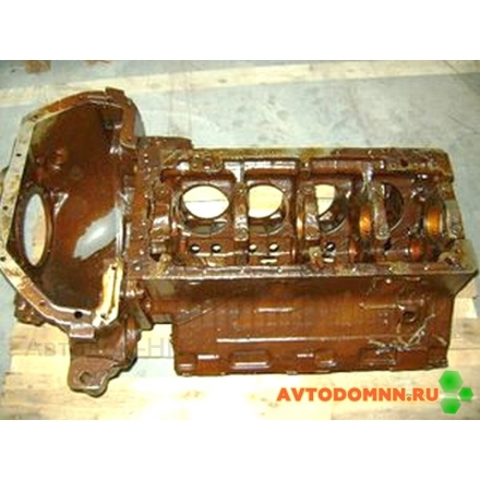 Блок цилиндров в сборе с картером ЗИЛ 130-1002006-Б АМО ЗИЛ