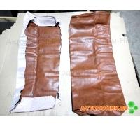 Обивка двухместная сидения (коричн.) (низкая спинка) ПАЗ