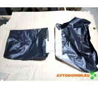 Обивка одноместного сиденья высокая спинка (черная) ПАЗ ПАЗ