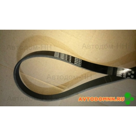 Ремень привода вентилятора ЯМЗ-534 (6РК-1371) ПАЗ Вектор Next 5340-1308170-10