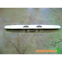 Бампер задний Газель (металлический, под грунт.) 2705-2804012-30 Технопласт