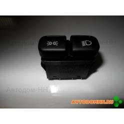 Кнопка двойная (ближний свет+габарит) ПАЗ-3204 882.3709М