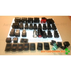 Кнопки на приборную панель (комплект) ПАЗ-320402-03