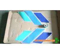 Лента боковая ромбами (н/о сине/зеленая) ромбы/32053-10-01 Б
