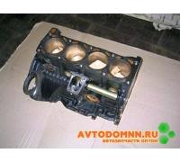 Блок цилиндров с крышками коренных подшипников двигатель ЗМЗ-406 406.1002010-40 ЗМЗ