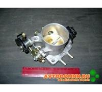Дроссель двигатель ЗМЗ-40522, 409, с датчиком Контакт г.Йошкар-Ола 4062.1148100-11 ЗМЗ