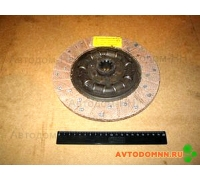Диск сцепления ведомый УМЗ-421 (100л/с) лепестковое сцепление (первичный вал ф29мм) 421-1601130 АВТОМАГНАТ