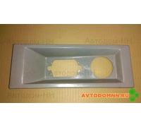 Панель габаритная задняя бамперная серая ПАЗ 3205-2804020