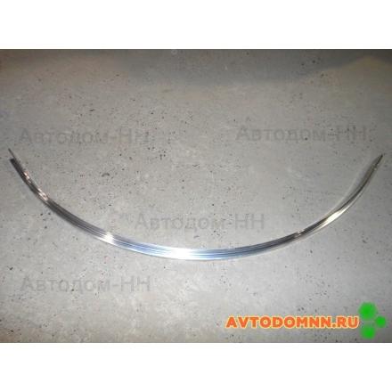 Облицовочный уголок заднего прав. кожуха (внутр) ПАЗ 3205-5109060