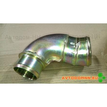 Патрубок (металл) 60x76 (угловой) с загибом 320402-05-210-1008030