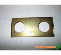 Пластина опорных пальцев задних колодок ПАЗ 4301-3501033-10
