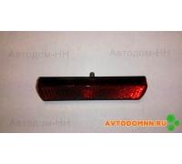 Световозвращатель прямоугольный без подсветки (красный) ПАЗ ФП312 ОСВАР